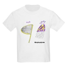 Jelly Fish and Net Kids T-Shirt