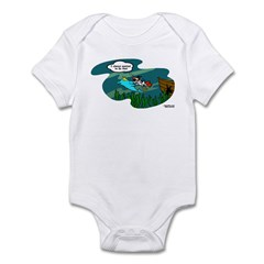 VivaPup: Swims With Dolphins Infant Bodysuit