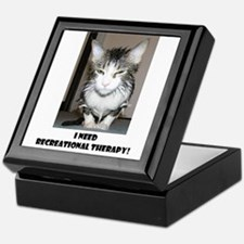 Cute Recreation therapy Keepsake Box