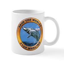 Save Whales Stop Whaling Small Mug