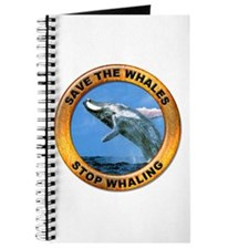 Save Whales Stop Whaling Journal