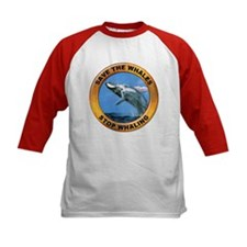 Save Whales Stop Whaling (Front) Tee