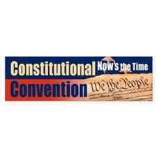 Constitutional Convention Car Sticker