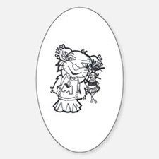 Myah Sticker (Oval)