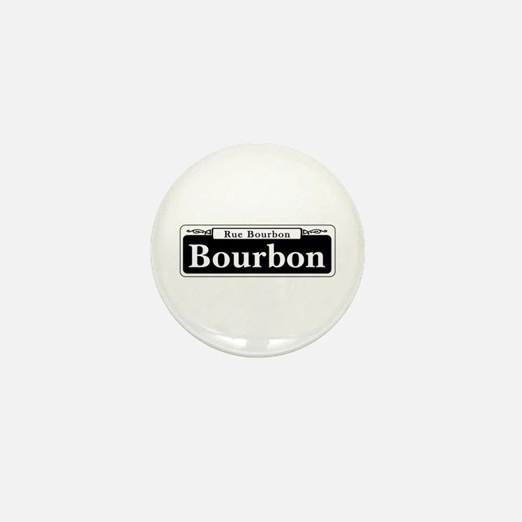 Bourbon St., New Orleans Mini Button
