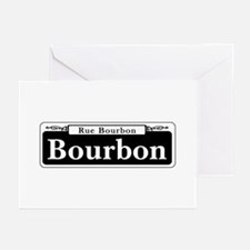 Bourbon St., New Orleans Greeting Cards (Pk of 10)