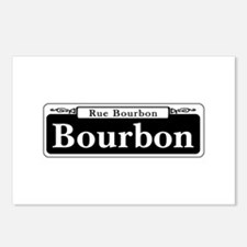 Bourbon St., New Orleans Postcards (Package of 8)