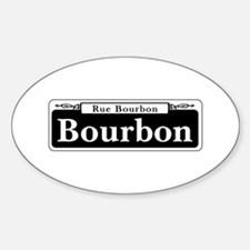 Bourbon St., New Orleans Decal