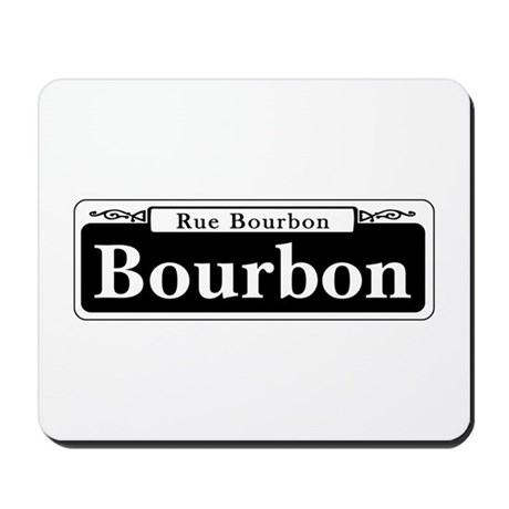 Bourbon St., New Orleans Mousepad