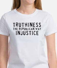 TRUTHINESS THE REPUBLICAN WAY Tee