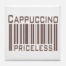 Cappuccino Priceless Tile Coaster