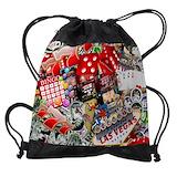Gambling Drawstring Bag