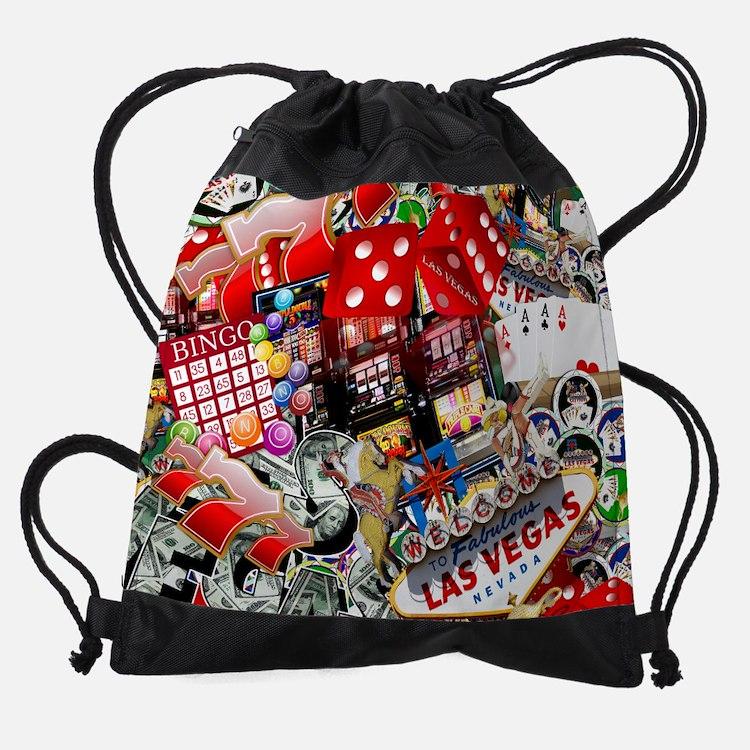 Las Vegas Icons - Gamblers Delight Drawstring Bag