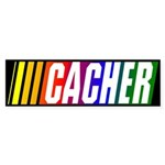 CACHER Bumper Sticker