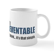 FASD is 100% Preventable Mugs