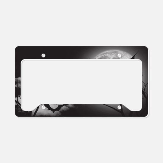 Bats in the Moonlight License Plate Holder