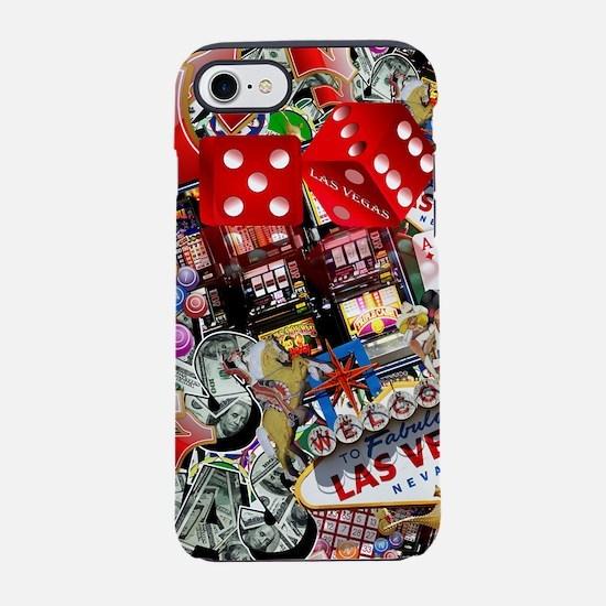 Las Vegas Icons - Gamblers Del iPhone 7 Tough Case