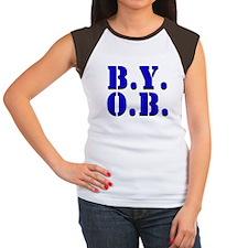 BYOB Women's Cap Sleeve T-Shirt