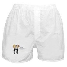 Cute Just married Boxer Shorts