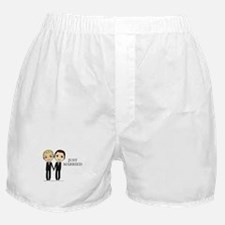 Cute Just married gay Boxer Shorts