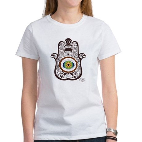 Hamsa Brown Boys Light T-Shirt