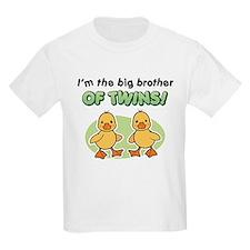 Big Brother of twins - Ducks T-Shirt
