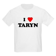 I Love TARYN Kids T-Shirt