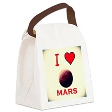 Mars Canvas Lunch Bag