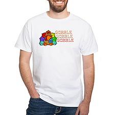 Gobble Gobble Gobble Colorful Turkey T-Shirt
