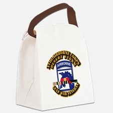 Army - DS - XVIII ABN CORPS - w DS Canvas Lunch Ba