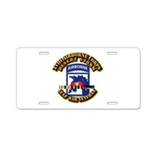 Army - DS - XVIII ABN CORPS - w DS Aluminum Licens