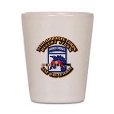Army - DS - XVIII ABN CORPS - w DS Shot Glass