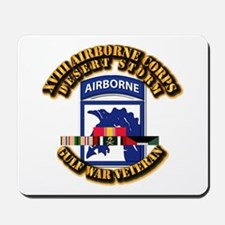 Army - DS - XVIII ABN CORPS - w DS Mousepad