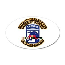 Army - DS - XVIII ABN CORPS - w DS Wall Decal