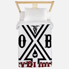 OxBlooD Twin Duvet