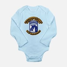 Army - DS - XVIII ABN CORPS Long Sleeve Infant Bod