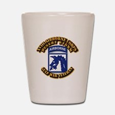 Army - DS - XVIII ABN CORPS Shot Glass