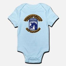 Army - DS - XVIII ABN CORPS Infant Bodysuit
