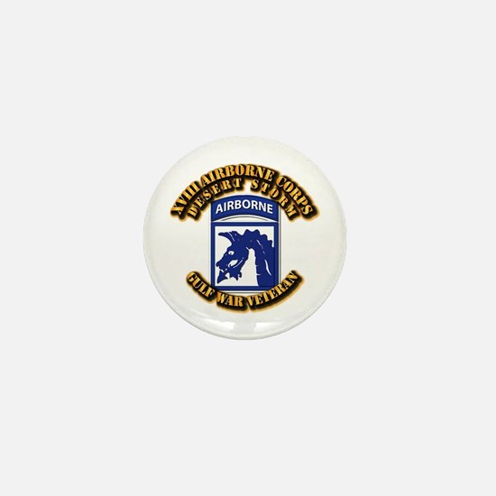 Army - DS - XVIII ABN CORPS Mini Button