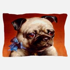 Bowtie Pug Puppy Pillow Case