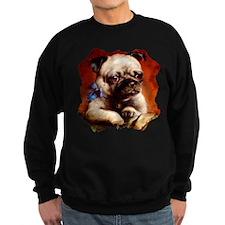 Bowtie Pug Puppy Sweatshirt