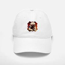 Bowtie Pug Puppy Baseball Baseball Cap
