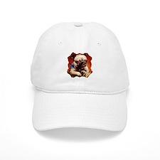 Bowtie Pug Puppy Baseball Cap