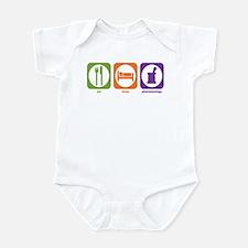 Eat Sleep Pharmacology Infant Bodysuit