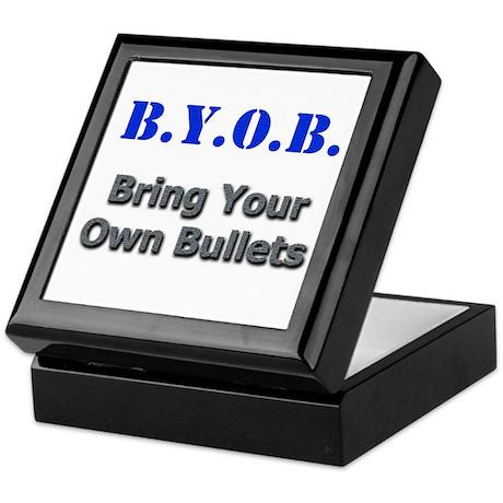 BYOB Bullets Keepsake Box
