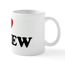 I Love MATHEW Mug