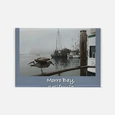 Morro Bay CA Rectangle Magnet