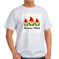 Gnome Unit Ash Grey T-Shirt