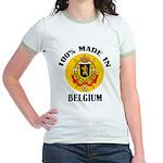 100% Made In Belgium Jr. Ringer T-Shirt