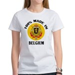 100% Made In Belgium Women's T-Shirt